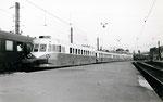 Paris-Austerlitz. Autorail ABJ4. Train 505 pour Vendôme. Cliché Gilbert Moreau. 08-1955