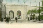 Besançon-007 : La Porte Battant, construite au XIXème siècle, a été détruite en 1956.