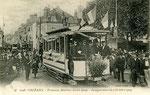 Orléans-T-081 : inauguration du tramway Martroi - Saint-Loup le 2 octobre 1904