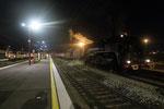 Les Aubrais. 21 octobre 2017. Locomotive 141 R 840 de l'association AAATV + Locomotive BB 26000 et train IC 3920 Montluçon - Paris-Austerlitz. Cliché Pierre Bazin