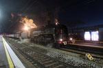 Les Aubrais. 21 octobre 2017. Locomotive 141 R 840 de l'association AAATV. Cliché Pierre Bazin