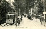 Fontainebleau-T-081 : Avon, avenue du Chemin de Fer, près de la gare.