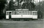 Fontainebleau-T-003 : Gare de Fontainebleau-Avon. Motrice n°14. Cliché Jacques BAZIN. 26 décembre 1953