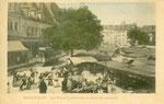 Besançon-008 : Place Labourée un jour de marché