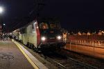 Les Aubrais. 16 janvier 2019. Locomotive BB 26043. Train 3913 Paris - Bourges. Cliché Pierre Bazin