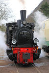 Brohl. 3 avril 2010. Brohltalbahn. Locomotive 030T n° 99-7203. Cliché Pierre BAZIN