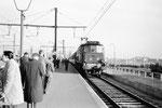 Les Aubrais. 23 mars 1963. Locomotive 2D2. Cliché Jacques Bazin