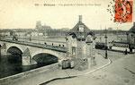 Orléans-T-022 : tête sud du pont Royal (actuel pont George V)