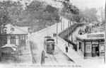 Le Conquet-001 : Le terminus brestois du tramway du Conquet, mis en service le 5 août 1908