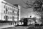 Dans la rue Mira, en 1952. STTS/Archives de l'Etat de Russie