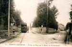 Fontainebleau-T-073 : Samois-sur-Seine, entrée du village.