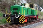 Burgbrohl. 3 avril 2010. Brohltalbahn. Locomotive D2. Cliché Pierre BAZIN