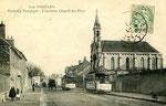 Orléans-T-082 : faubourg Bourgogne et ancienne chapelle des Pères
