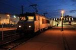 Orléans. 24 janvier 2019. Locomotive BB 7219. Train 860518 vers Paris-Austerlitz. Cliché Pierre Bazin