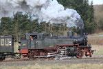 Betteldorf. 2 avril 2010. Locomotive 130T prussienne T11 n° 75-12. Train 3A Gerolstein - Ulmen. Cliché Pierre BAZIN