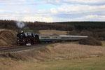 Schmidtheim. 2 avril 2010. Locomotive 231 n° 01-509. Train régulier RE 12086 Trier-Hbf - Köln-Messe/Deutz. Cliché Pierre BAZIN