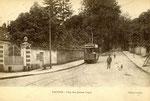 Fontainebleau-T-083 : Avon, avenue de Valvins, au carrefur des Basses-Loges.