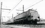 """Les Aubrais. 1er septembre 1957. Locomotive 2D2 5500. Rapide 5 """"Sud Express"""". Cliché Gilbert Moreau. Collection Xavier Inguenaud"""