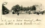 Fontainebleau-T-046 : Place Denecourt.