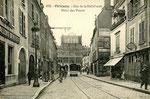 Orléans-T-068 : rue de la Hallebarde et ancien Hôtel des Postes