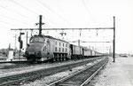 Les Aubrais. 1er septembre 1957. Locomotive 2D2 n°5545. Train 10084. Cliché Gilbert Moreau. Collection Xavier Inguenaud