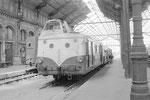 Orléans. 8 août 1959. Autorail X 5500 pour Montargis. Cliché Jacques Bazin