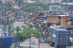 Manila - Blick in eines der Armenviertel