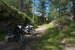 Abfahrt nach Bardoneccia