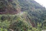 auf dem Weg nach Batad