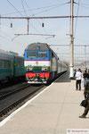 Samarkand - Bahnhof