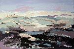 # Landschap in lila/bruin # 80x100 verkocht
