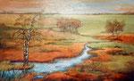 Herfst langs de Aa 100/160 acryl
