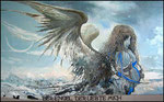 Ангел, который любил меня.   2003 г. 80х130 см.