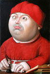 Портрет Томмазо Ингирами, хранителя Ватиканской библиотеки.      2009г. Холст, масло. 37 х 25,5 см.