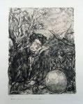 """Luc-Albert Moreau, """"Etude pour un hommage à Rimbaud"""" (1933)"""