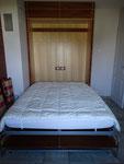 lit escamotable ouvert
