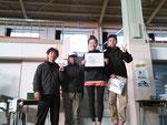 男女混合クラス静岡市民1位チーム