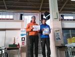 男子クラス初めてのロゲイニング1位、静岡市民1位チーム 男子全体でも4位!