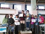 女子クラスの表彰式