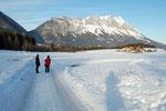 Auch ein Winterspazierung ist wunderschön