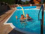 Wasserspaß mit der Pool-Noodle