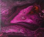-inside- 60cm x 50cm, Acryl auf Leinwand, fluoreszierend
