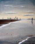 """Nordsee I"" (2017), Öl auf Leinwand , 40 x 50 cm"