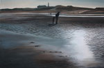 Nordsee II (2017) Öl auf Leinwand 40 x 50 cm