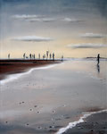 Nordsee  (2017) Öl auf Leinwand 40 x 50 cm