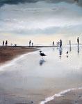 """Nordsee III"" (2017), Öl auf Leinwand , 40 x 50 cm"