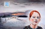 """""""Winterzeit"""" (2016), 120 x 80 cm, Öl auf Leinwand"""
