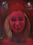 Red Moments (2018) Öl auf Leinwand  60 x 80 cm