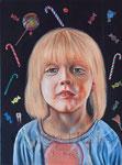"""sweets"" (2015) Öl auf Leinwand 30 x 40 cm"