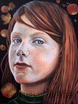 """""""Apfelzeit"""" (2015) Öl auf Leinwand 60 x 80 cm"""